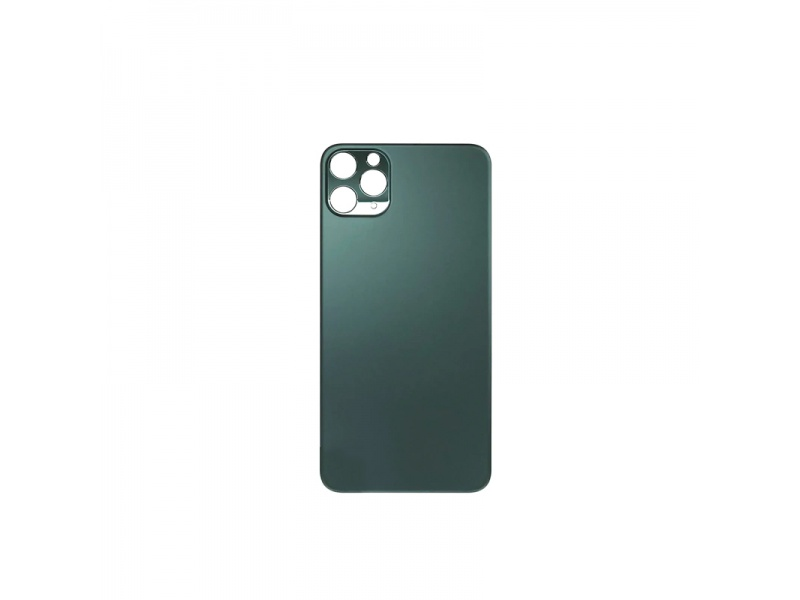 Back Cover Glass + Big Camera Hole pro Apple iPhone 11 Pro (Midnight Green)