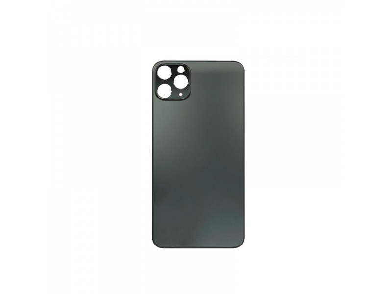 Back Cover Glass + Big Camera Hole pro Apple iPhone 11 Pro Max (Space Grey)