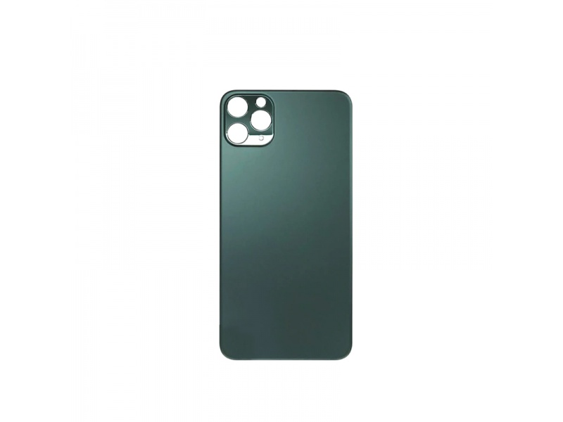 Back Cover Glass + Big Camera Hole pro Apple iPhone 11 Pro Max (Midnight Green)