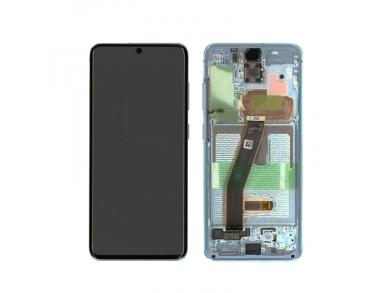 Samsung Galaxy S20 SM-G980 LCD + Touch White (Service Pack)