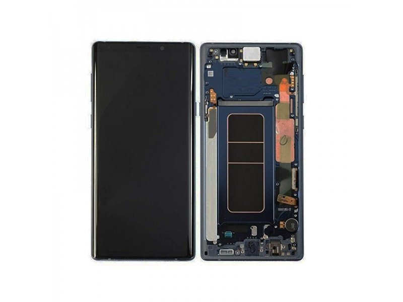 Samsung Galaxy Note 9 N960 LCD + Touch + Frame Blue (Service Pack)