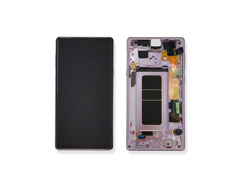 Samsung Galaxy Note 9 N960 LCD + Touch + Frame Lavener Purple (Service Pack)