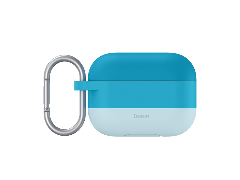 Baseus Cloud Hook Silica Gel Protective Case for Airpods Pro Blue