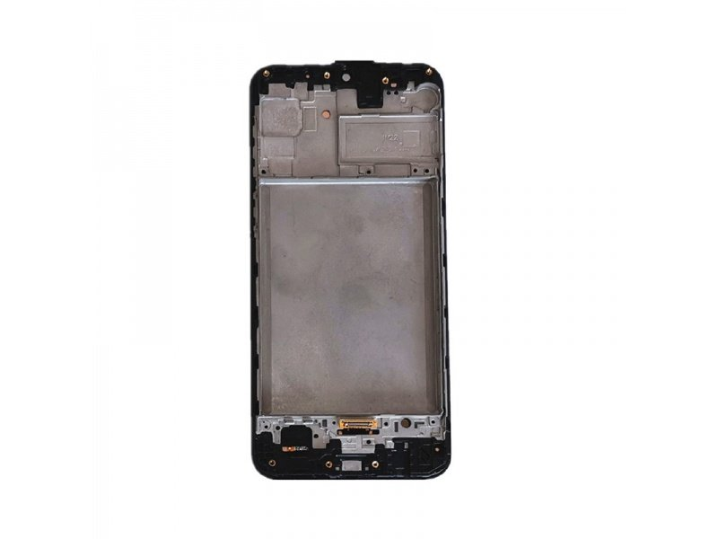 Samsung Galaxy M21 M215F LCD + Touch + Frame Black (Service Pack)