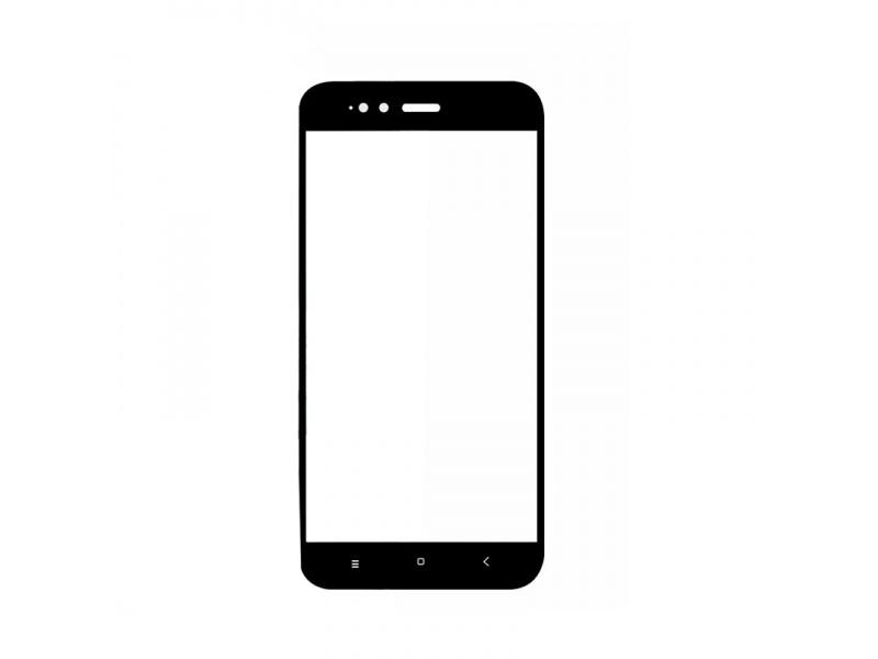 Xiaomi Mi A1 Screen Protector Rounded Edge Black
