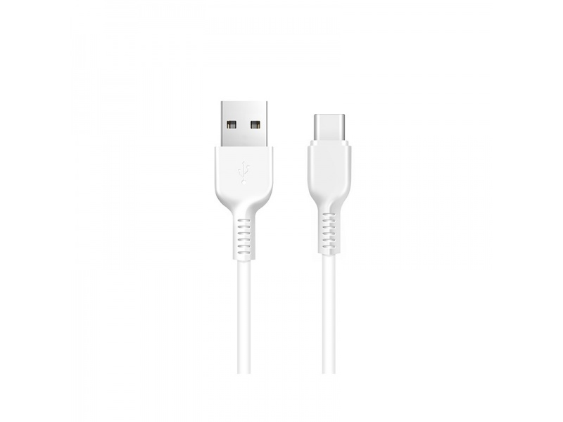 Hoco Easy Charged Type-C Charging Cable 1m White