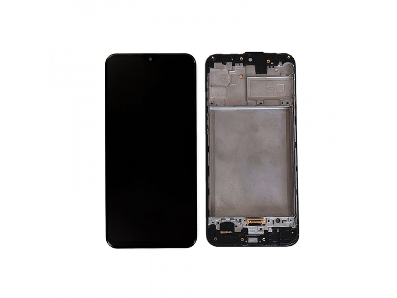 Samsung Galaxy M31 M315F LCD + Touch + Frame Space Black (Service Pack)