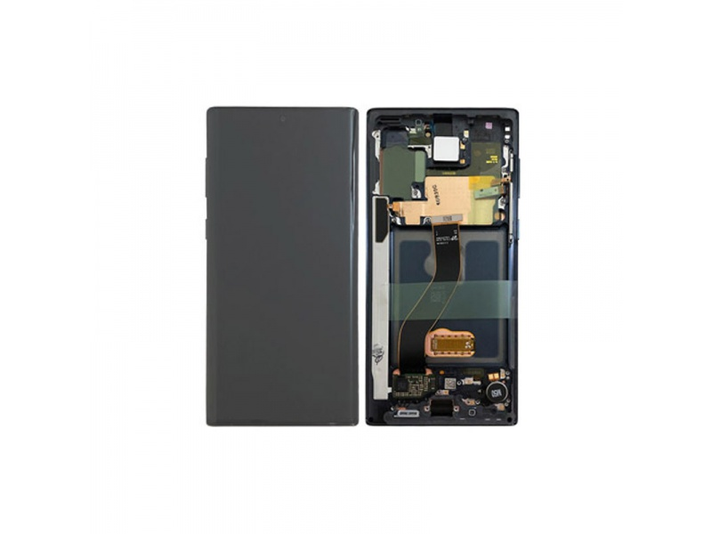 Samsung Galaxy Note 20 Ultra 5G N986 LCD + Touch + Frame Black (Service Pack)