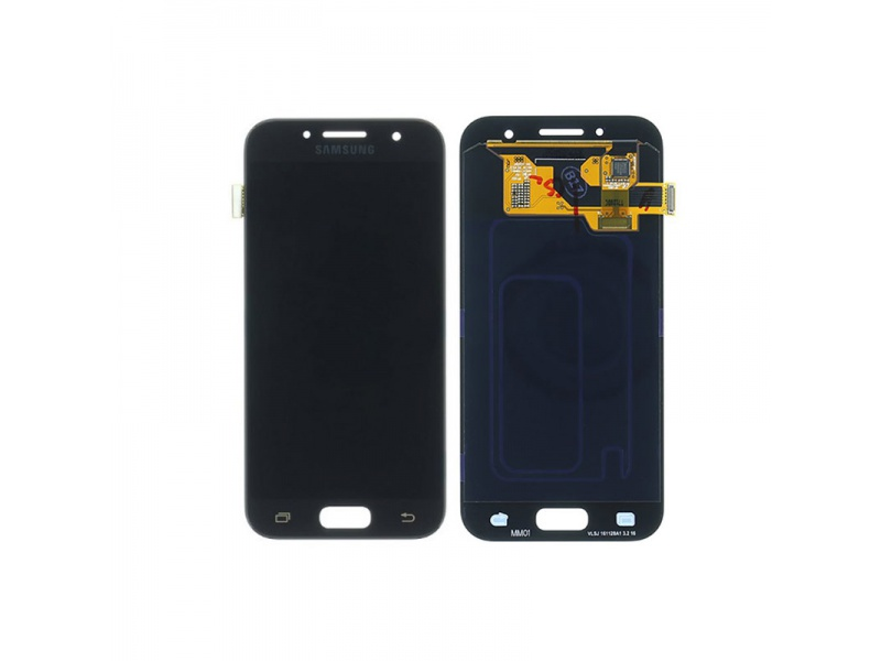 Samsung Galaxy A3 2017 A320 LCD + Touch Black (Service Pack)