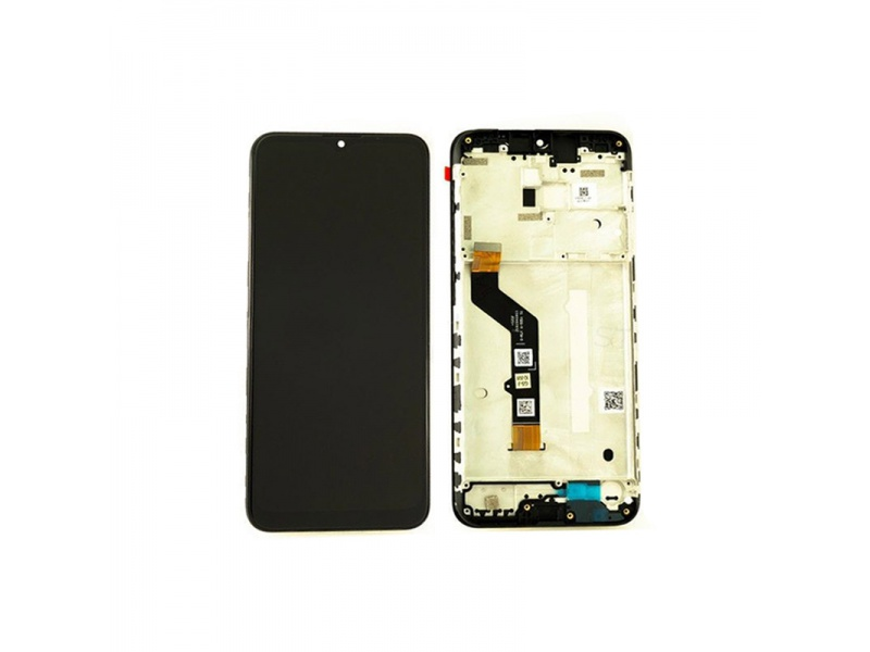 Motorola G9 Play LCD + Touch + Frame Black (Service Pack)