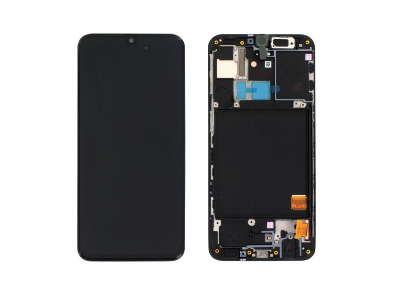 Samsung Galaxy A31 A315 LCD + Touch Black (Service Pack)