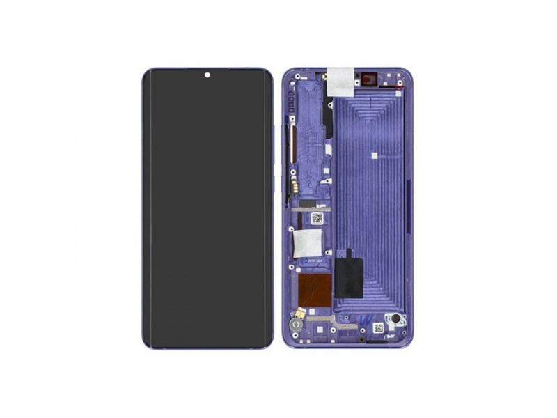 Xiaomi Mi Note 10 lite LCD + Touch + Frame - Nebula Purple (Service Pack)