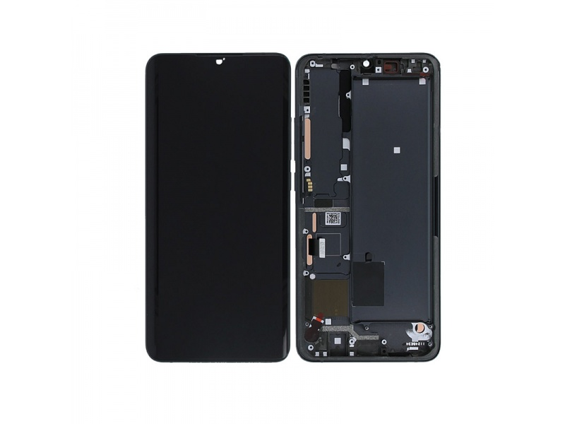 Xiaomi Mi Note 10 lite LCD + Touch + Frame Midnight Black (Service Pack)