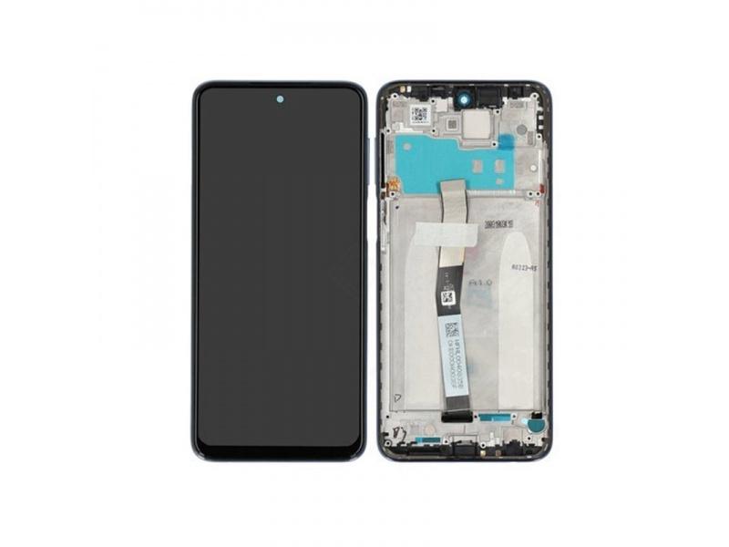 Xiaomi Redmi Note 9 Pro LCD + Touch + Frame - Interstellar Grey (Service Pack)
