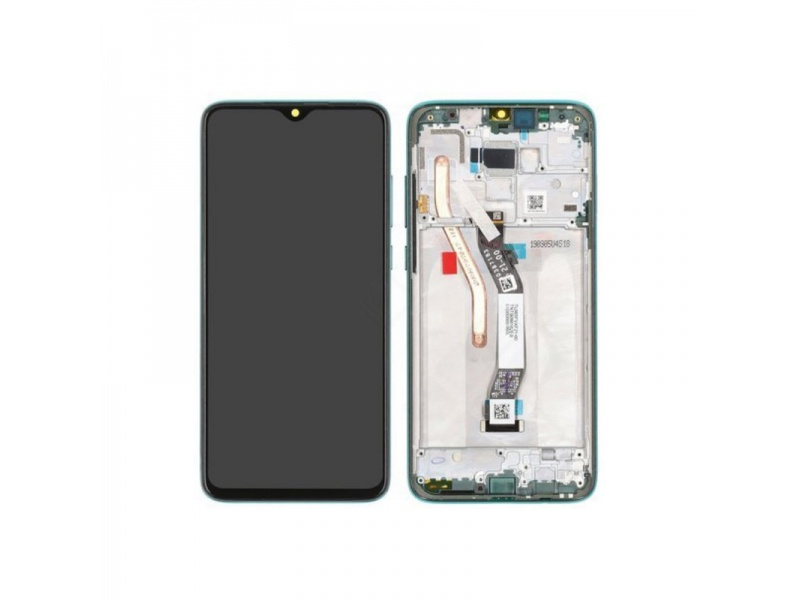 Xiaomi Redmi Note 8 Pro LCD + Touch + Frame - Pearl White (Service Pack)