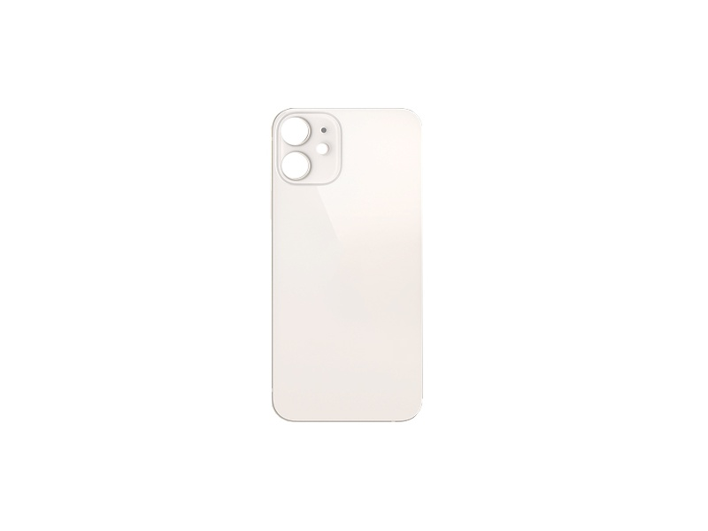 Back Cover Glass for Apple iPhone 12 Mini White