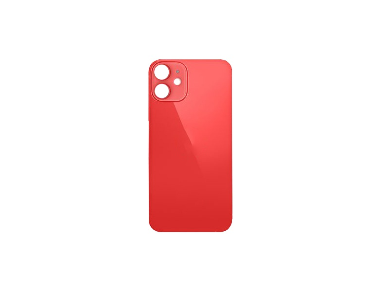 Back Cover Glass for Apple iPhone 12 Mini Red