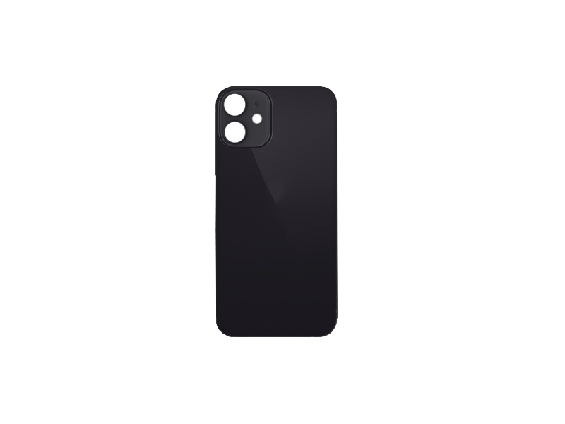 Back Cover Glass for Apple iPhone 12 Mini Black
