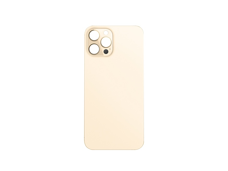Back Cover Glass for Apple iPhone 12 Pro Max Gold