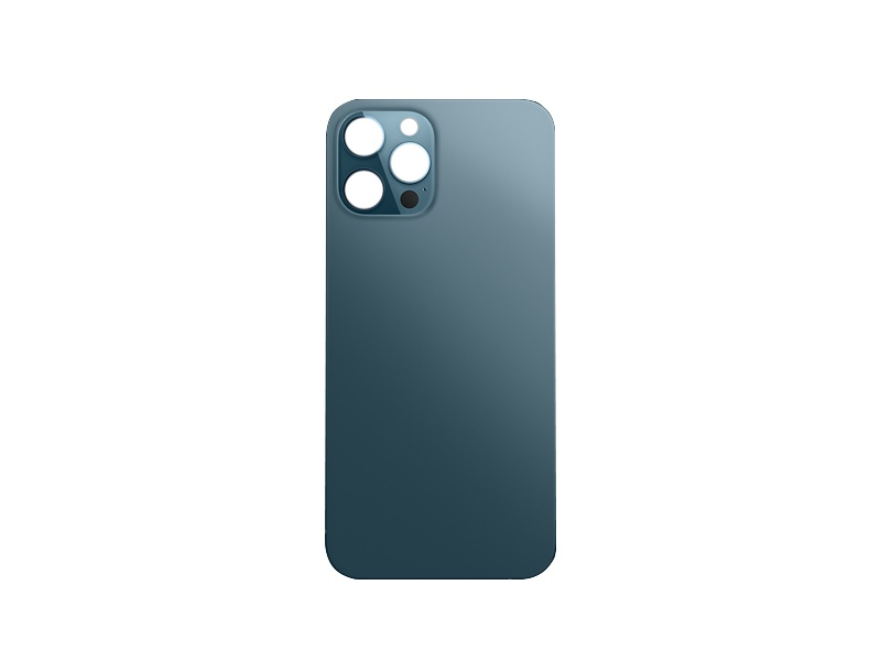 Back Cover Glass for Apple iPhone 12 Pro Max Pacific Blue