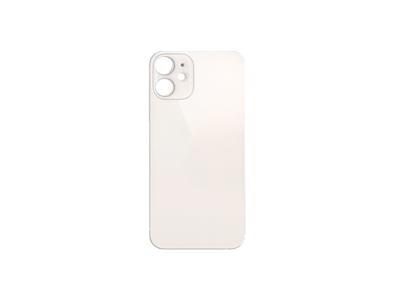 Back Cover Glass for Apple iPhone 12 White