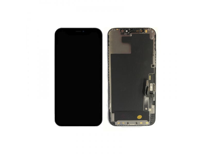 LCD + Touch Black pro Apple iPhone 12 / 12 Pro (Genuine)