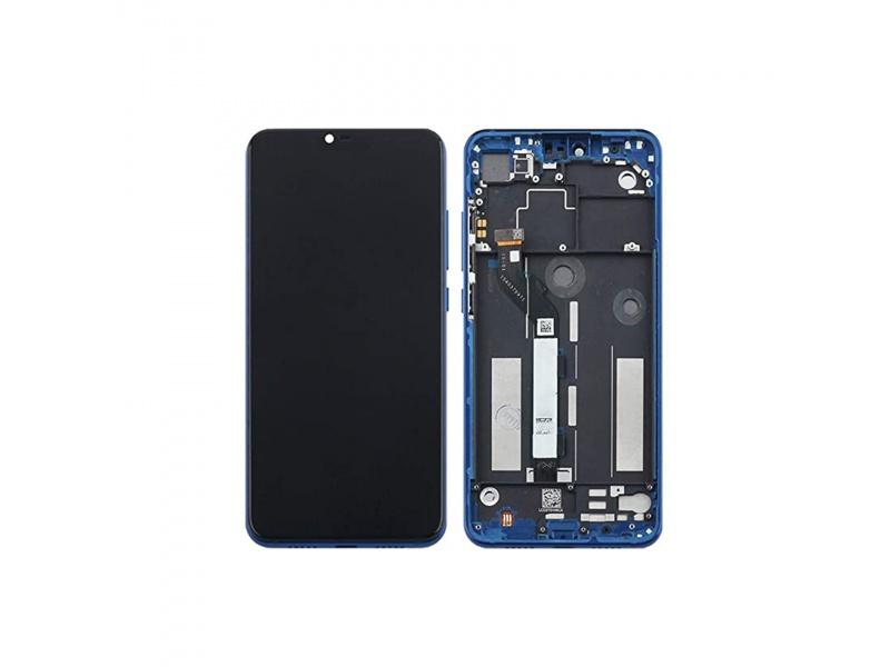 Xiaomi Mi 8 Lite LCD + Touch + Frame Blue (OEM)