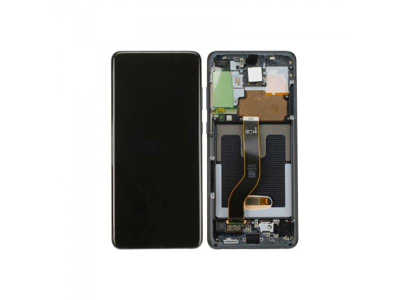 Samsung Galaxy S20+ 5G G986F/DS LCD + Touch + Frame Cosmic Black (Service Pack)