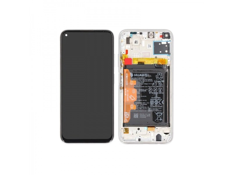 Huawei P40 Lite LCD + Touch + Frame Breathing Crystal (Service pack)