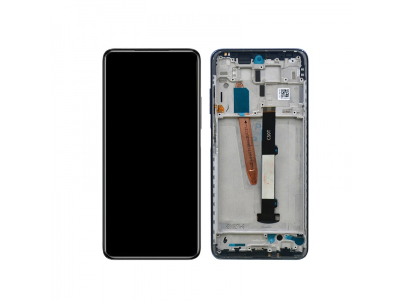 Xiaomi Poco X3 LCD +Touch + Frame Shadow Gray (Service Pack)