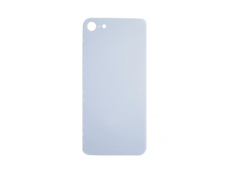 Back Cover Glass + Big Camera Hole pro Apple iPhone SE 2020 White