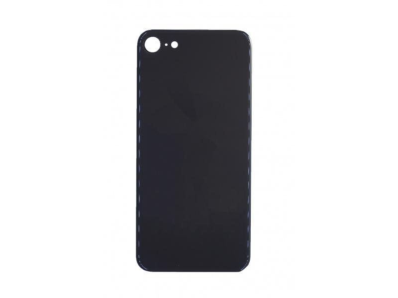 Back Cover Glass + Big Camera Hole pro Apple iPhone SE 2020 Black