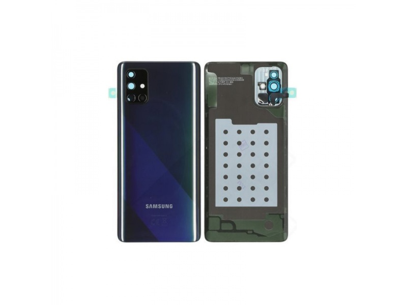 Samsung Galaxy A71 A715 Back Cover Black (Service Pack)