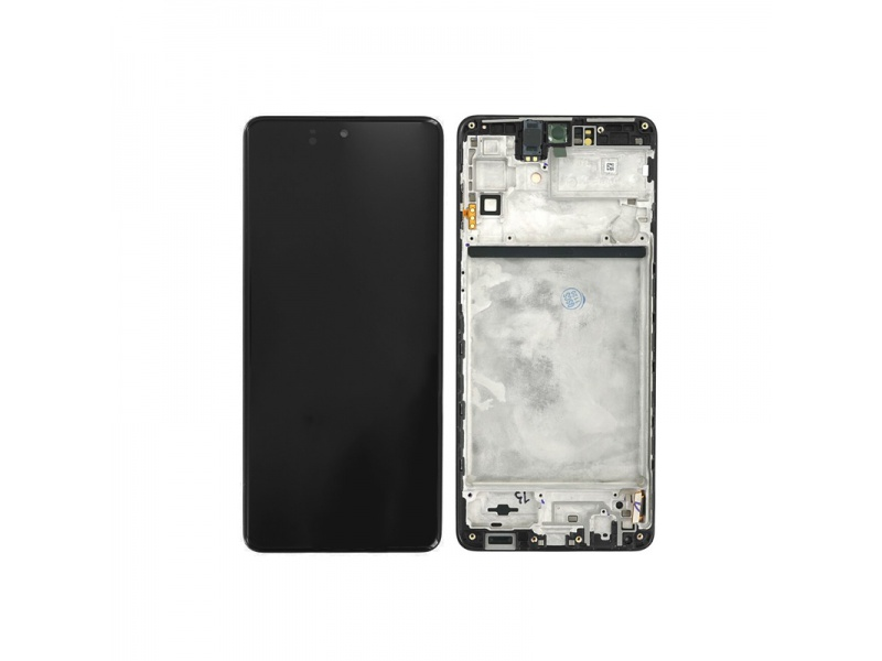 Samsung Galaxy M51 M515 LCD + Touch + Frame Celestial Black (Service Pack)