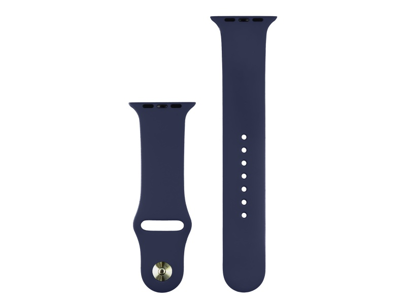 COTEetCI Silicone Sports Band for Apple Watch 42 / 44mm Midnight Blue