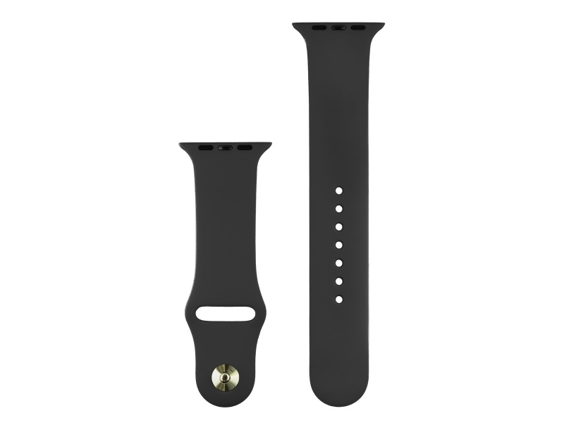 COTEetCI Silicone Sports Band for Apple Watch 42 / 44mm Black