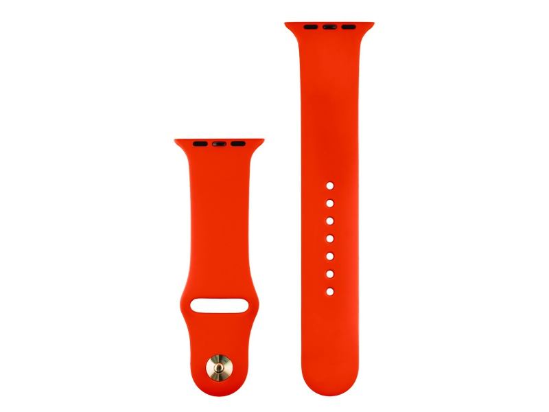 COTEetCI Silicone Sports Band for Apple Watch 42 / 44mm Red