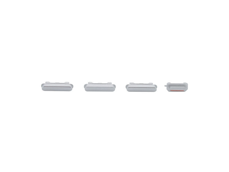 Side Buttons Silver pro Apple iPhone 6S