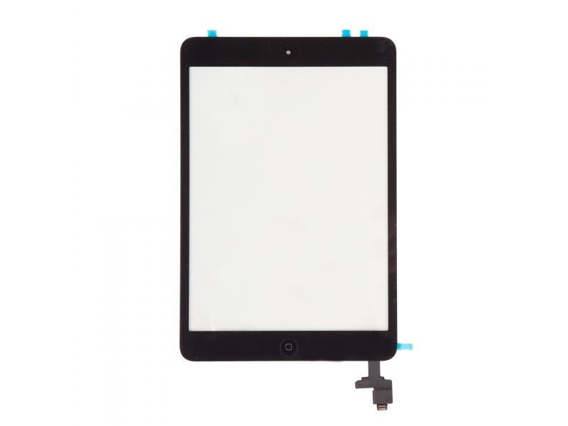 Touch with IC (OEM) Black pro Apple iPad Mini 1 (With Home Button)