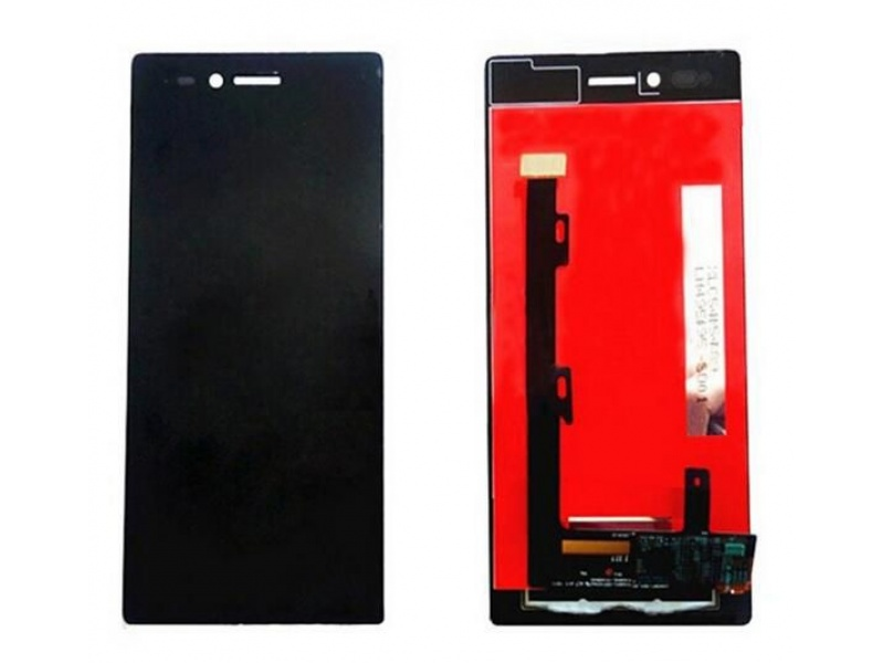 LCD + Touch + Frame (Separated) pro Lenovo Vibe Shot (Z90-7) Black (OEM)