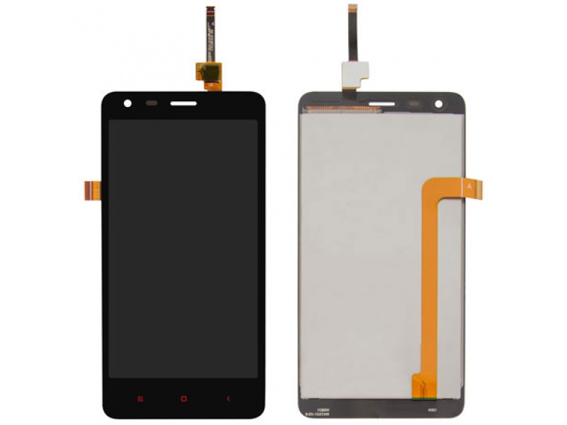 Xiaomi Redmi 2A LCD + Touch + Frame (Separated) - Black (OEM)