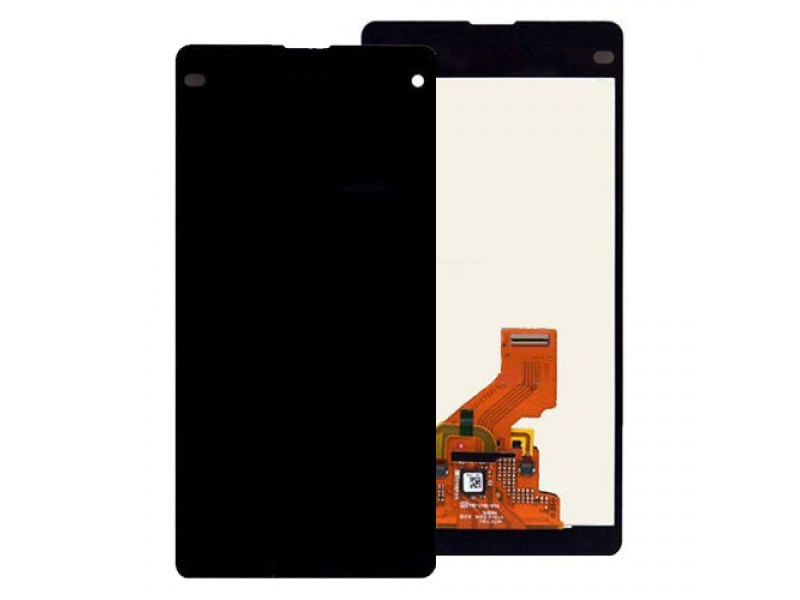 LCD + Touch + Frame (Assembled) pro Sony Xperia Z1 Compact (D5503) Black (OEM)