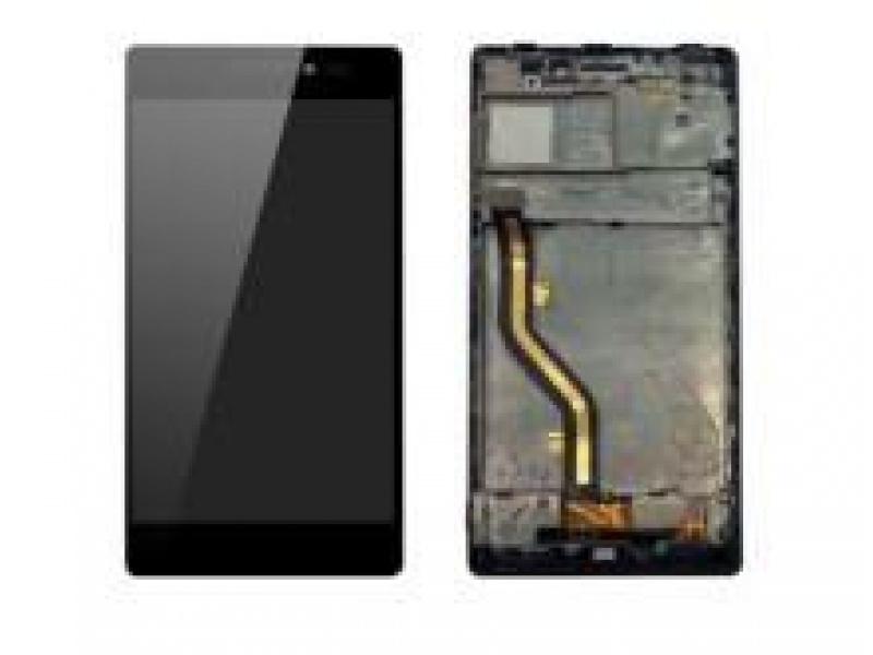 LCD + Touch + Frame (Assembled) pro Lenovo Vibe X2 Black (OEM)