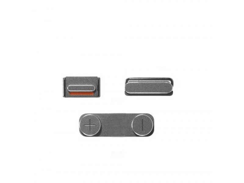 Side Buttons Silver pro Apple iPhone SE