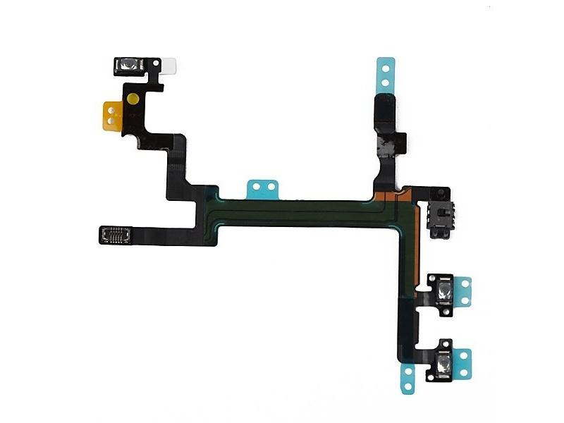 Power Button + Volume Button Flex + Metal Plate pro Apple iPhone SE