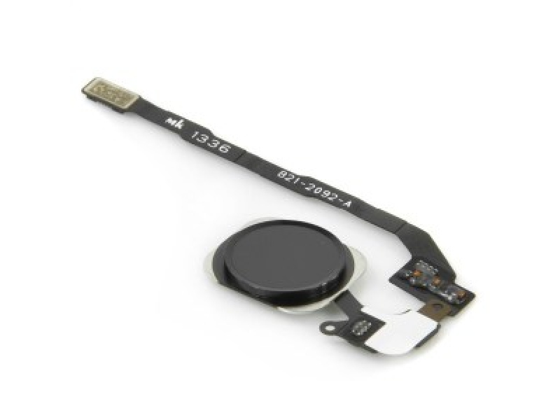 Home Button + Flex Space Grey pro Apple iPhone SE