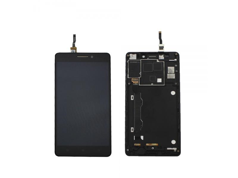 LCD + Touch + Frame (Assembled) pro Lenovo K3 Note (K50-T5) Black (OEM)