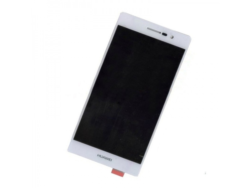 LCD + Touch + Frame (Separated) pro Huawei P7 - White (OEM)
