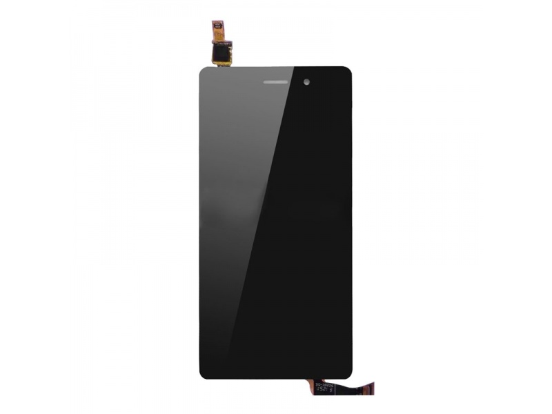 LCD + Touch + Frame (Separated) pro Huawei P8 Black (OEM)
