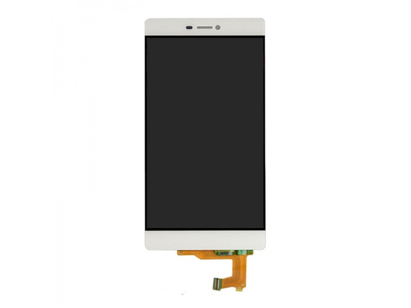 LCD + Touch + Frame (Separated) pro Huawei P8 - White (OEM)